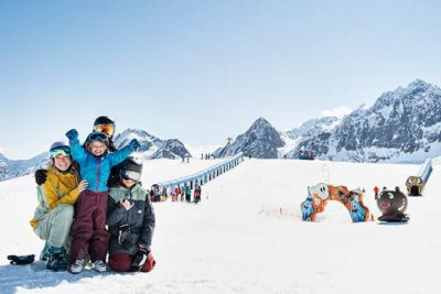 Alpine winter Hotel Almhof Danler Hotel in Neustift Stubai Valley Tyrol