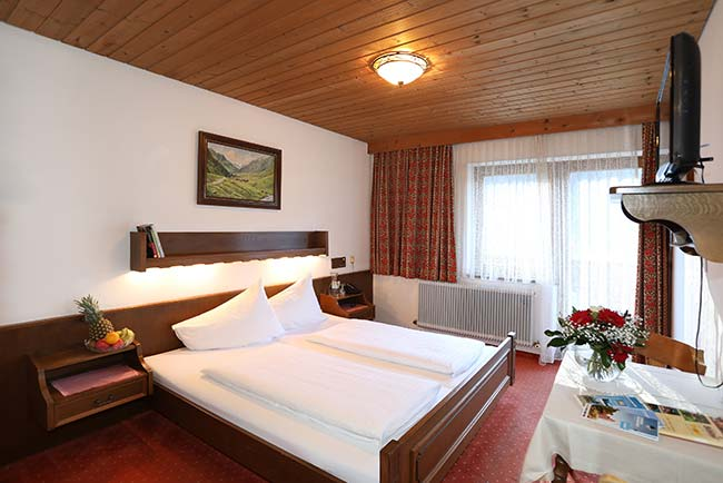 Double rooms at the farm