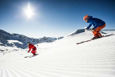 Frühlingsangebot Skiurlaub am Stubaier Gletscher Hotel Almhof Danler Hotel in Neustift Stubaital Tirol