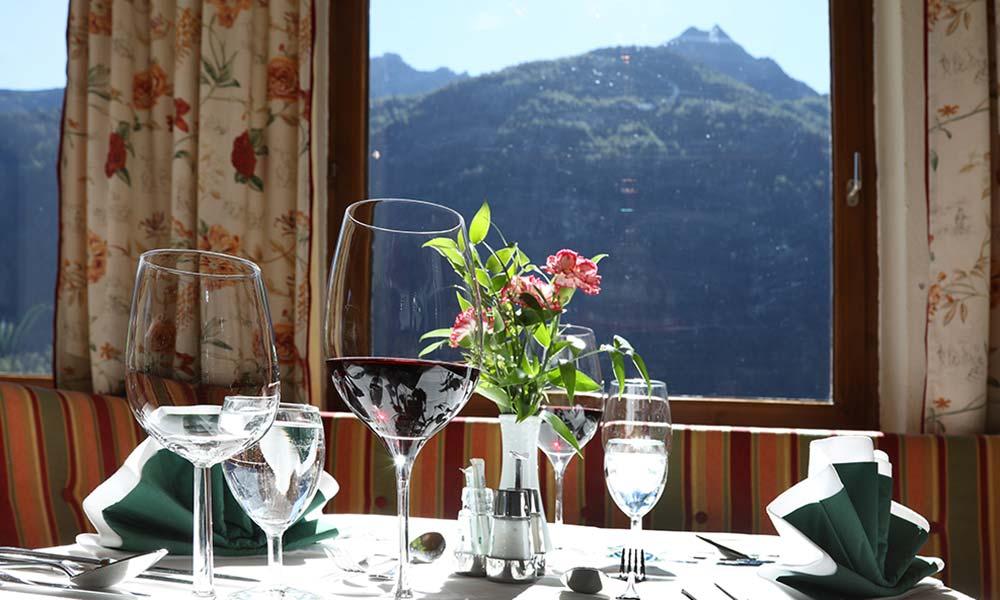 Kulinarisches Kulinarium Hotel Almhof Urlaub in Neustift Milders Tirol Österreich