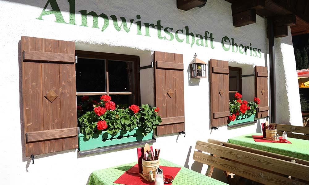 Kulinarisches Kulinarium Oberiss Alm Urlaub in Neustift Milders Tirol Österreich