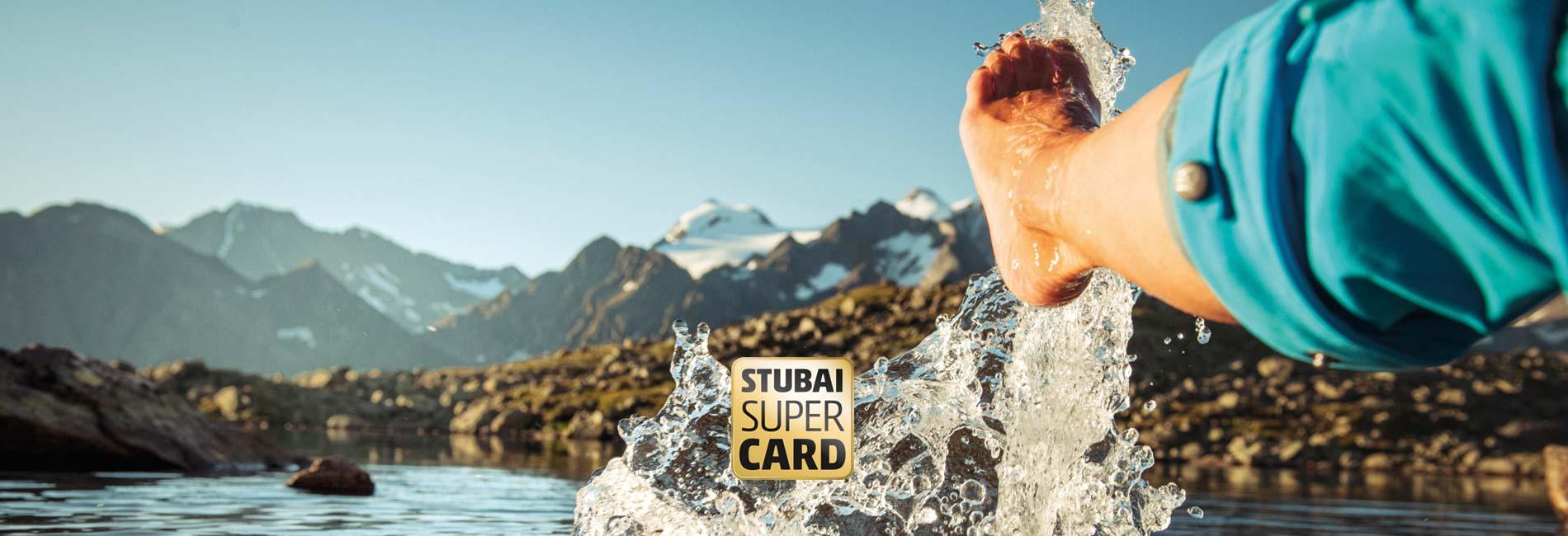 Stubai Super Card Sommerurlaub im Stubaital Hotel Almhof Neustift Milders Tirol