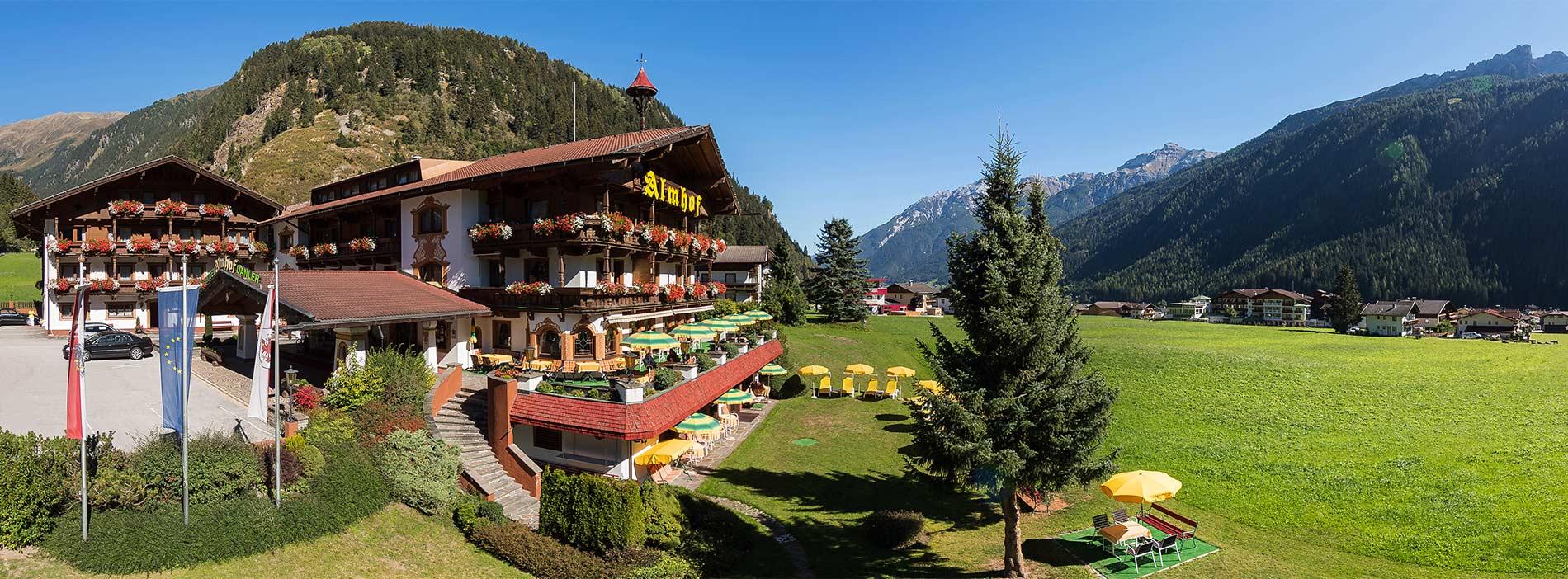Urlaub in der Natur im Hotel Almhof in Neustift Milders Tirol