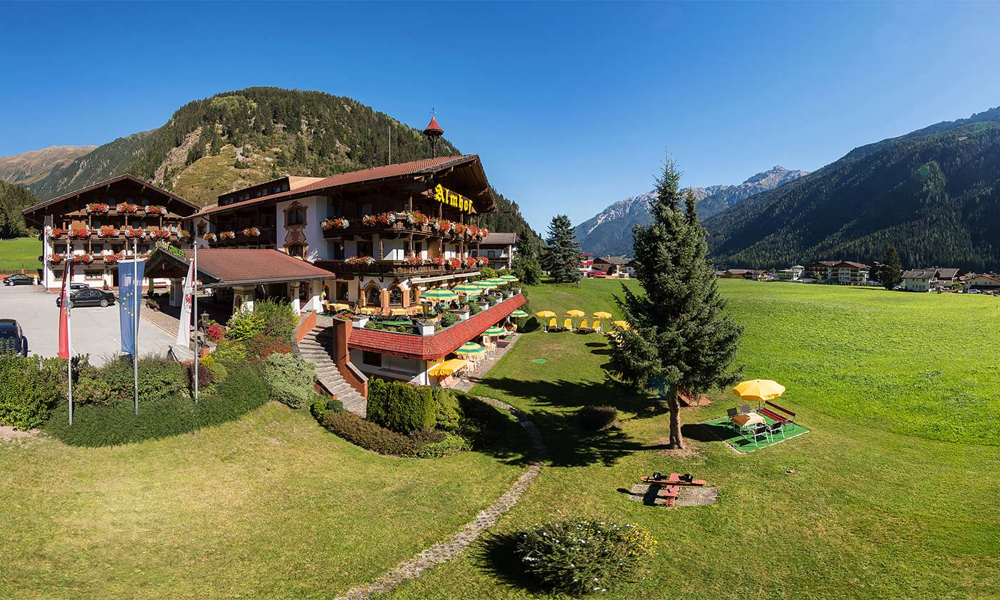 A holiday in the midst of nature Hotel Almhof in Neustift Milders Tyrol