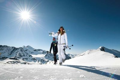 White weeks in the stubai valley Hotel Almhof Neustift Stubaital Tyrol