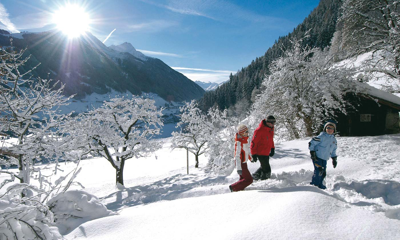 Winter holiday in the Stubai Valley Hotel Almhof in Neustift Milders Tyrol