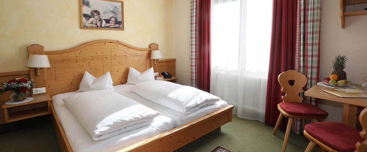 Almrausch double room