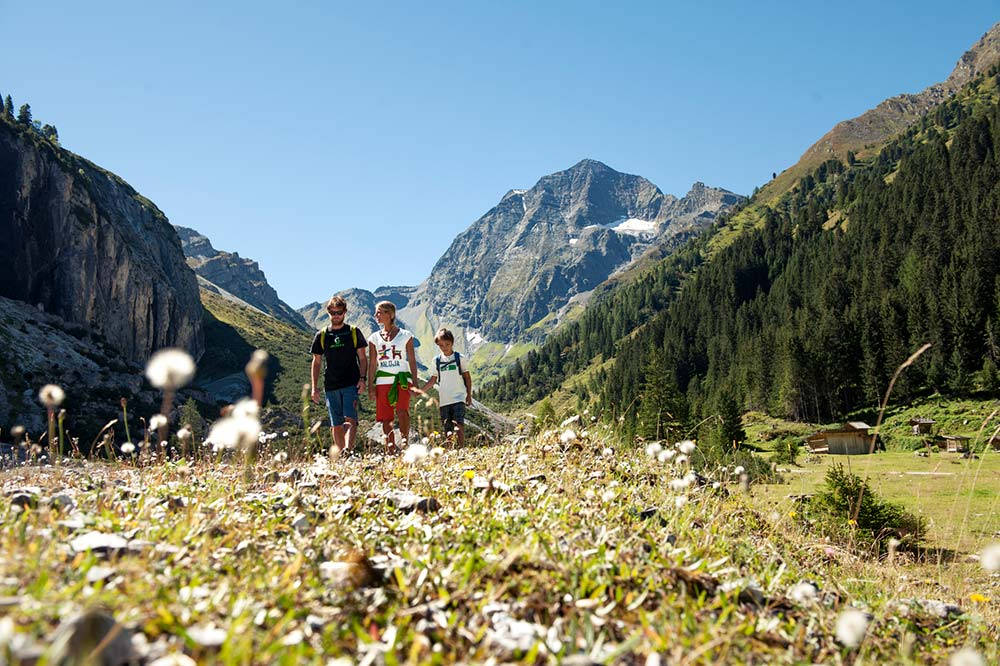 Spätsommerpauschale Hotel Almhof Milders Neustift Stubaital Tirol Austria