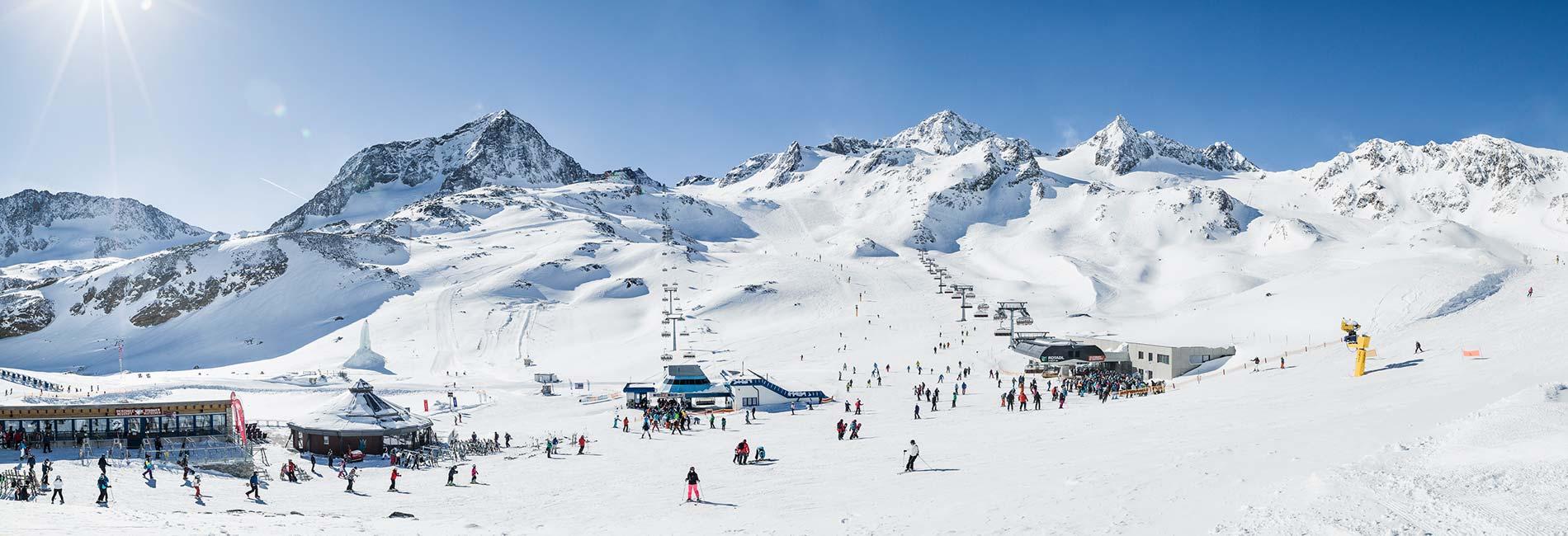 Hotel Almhof Neustift Stubaier Gletscher Skiurlaub im Stubaital